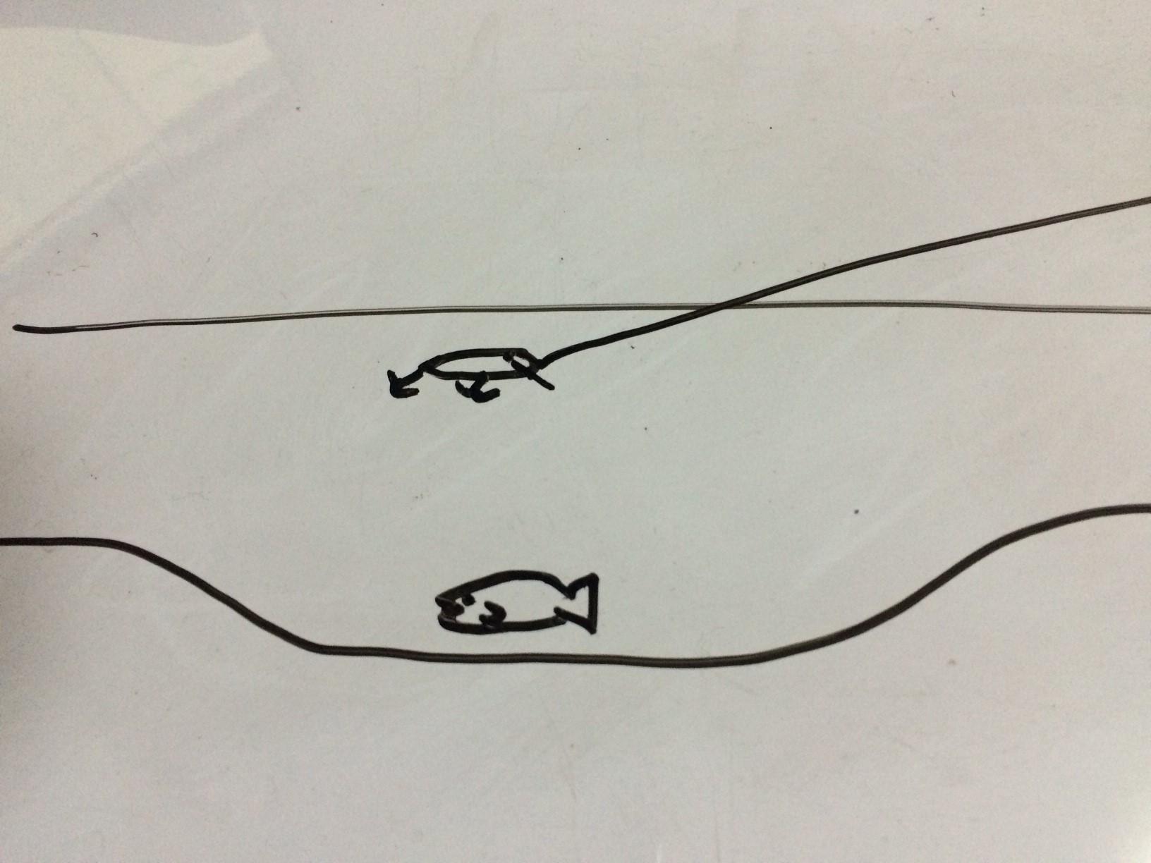 渓流ルアー釣りの狙うレンジ(深さ)